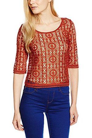 Women Long Sleeve - New Look Women's 70s Crochet Crop 3/4 Sleeve Tops