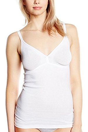Women Vests & T-shirts - Triumph Women's Katia Basics Bv Non-Wired Vest, Bianco ( 03)