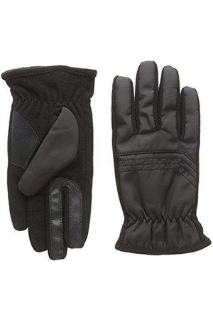 Men Gloves - Isotoner Men's Smartouch Nylon and Fleece Gloves