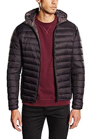 Men Jackets - Schott NYC Men's SILVERADO Down Hooded Long Sleeve Jacket