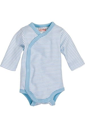 Rompers - Schnizler Baby-Boys Wrap-Around Long Sleeve Striped Bodysuit
