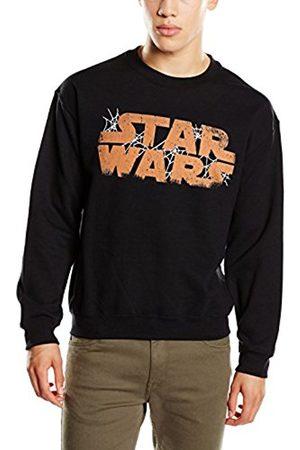 Men Sweatshirts - STAR WARS Men's Halloween Spider Web Logo Long Sleeve Sweatshirt
