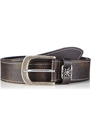 Belts - Werner Trachten Unisex Trachtengürtel Belt - brown - 110 cm