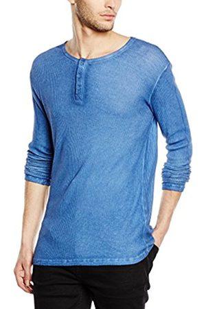 Men Long Sleeve - Solid Men's Long-Sleeved Shirt - - XX-Large