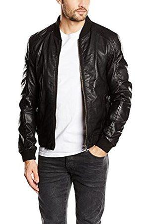 Men Leather Jackets - Men's leather jacket Long Sleeve Jacket - - XX-Large