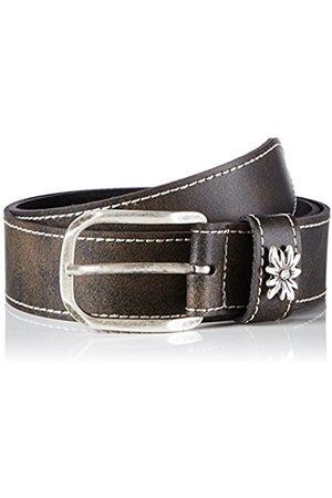 Belts - Werner Trachten Unisex Trachtengürtel Belt - brown - 100 cm
