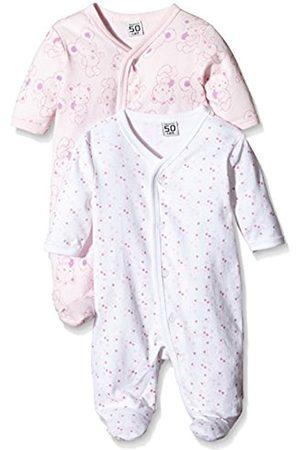 Bathrobes - Baby Girls Sleepsuit, 2-Pack