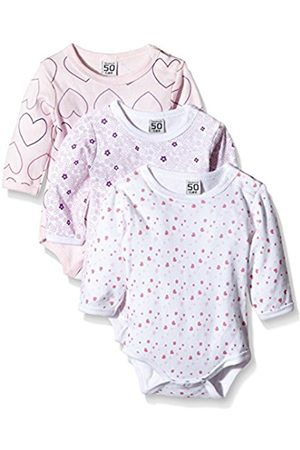 Rompers - Baby Girls Bodysuit, Longsleeve, 3-Pack