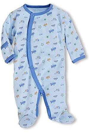 Bathrobes - Schnizler Unisex Baby New Born Pyjama Overall Allover Cars Sleepsuit