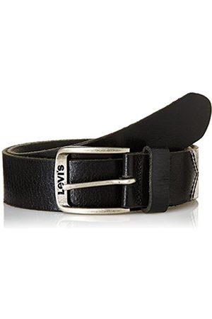 Men Belts - Levi's Men's Classic Top Logo Buckle Belt