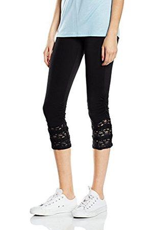 Women Leggings & Treggings - Cream Women's Agnes 3/4 Legging Skinny Trousers - - 14