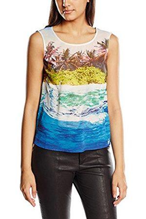 Women Tank Tops - Yumi Women's Underwater Print Sleeveless Tops