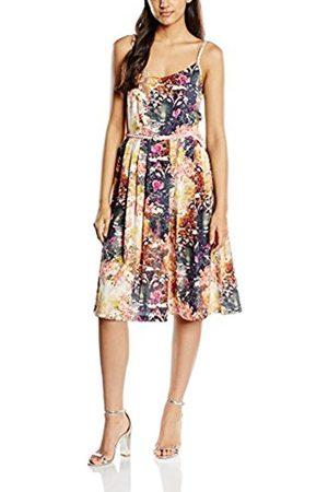 Women Printed Dresses - Yumi Women's Sunlight Floral Sleeveless Dress