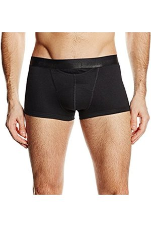 Men Boxer Shorts - Hom Men's New HO1 Boxer Brief Plain Trunk