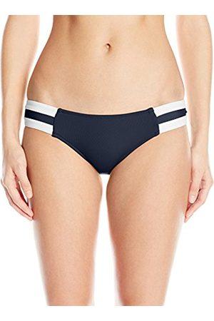 Women Bikinis - Seafolly Women's Block Party Spliced Hipster Non-Wired Plain Bikini Bottoms - - 10