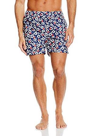 Men Shorts - GANT Men's Shorts Blau (NAVY 405) X-Large