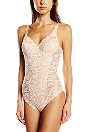 Women Bodies - Triumph Women's Amourette 300 BSW Wired Floral Shaping Bodysuit