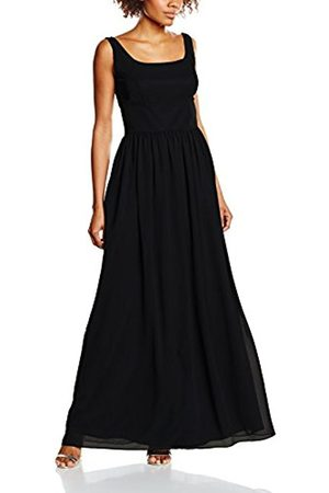 Women Sleeveless Dresses - Swing Women's 116-500387-81 A-Line Plain Sleeveless Dress