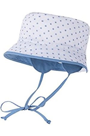 Hats - maximo Baby Boys' Hat Multicoloured Mehrfarbig (weiss- -Sterne/himmel 5540) 18.5