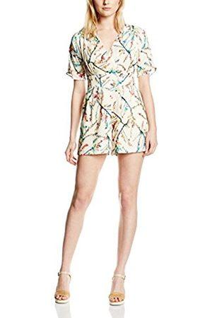 Women Dresses - Darling Women's Larissa Playsuit Floral Short Sleeve Dress 24 UK