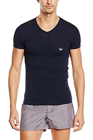 Men Vests & T-shirts - Armani Men's Vest Multicoloured Mehrfarbig (MARINE 00135) Large