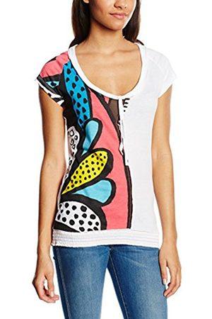 Women Short Sleeve - Desigual Women's Printed Short Sleeve T-Shirt - - Small