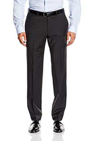 Men Trousers - Daniel Hechter Men's Straight Leg Suit Trousers - - W25