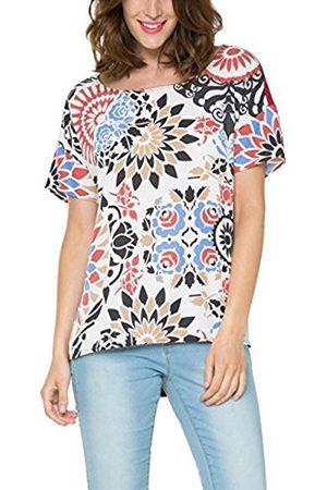 Women Short Sleeve - Desigual Women's Printed Short Sleeve T-Shirt - - Large