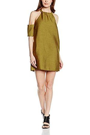 Women Halterneck Dresses - C/meo Collective Women's Perfect Lie Halterneck Short Sleeve Dress