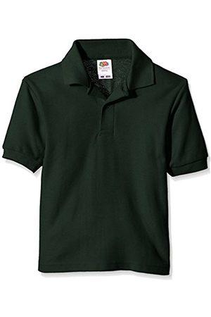 Boys Short Sleeve - Fruit Of The Loom Boy's Pique Polo Plain Polo Short Sleeve T-Shirt
