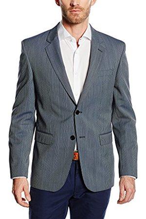 Men Blazers - Men's Striped Blazer Blau (hellblau 2) 38R