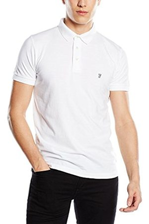Men Short Sleeve - French Connection Men's Basic Sneezy Polo Plain Short Sleeve T-Shirt