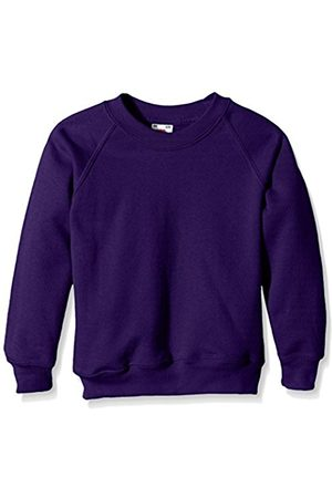 Boys Sweatshirts - Fruit Of The Loom Boy's Classic Crew Neck Long Sleeve Sweatshirt