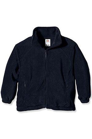 Boys Fleece Jackets - Fruit Of The Loom Boy's Fleece Plain Long Sleeve Jacket