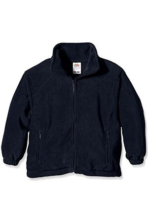 Fruit Of The Loom Unisex Kids Zip Front Fleece