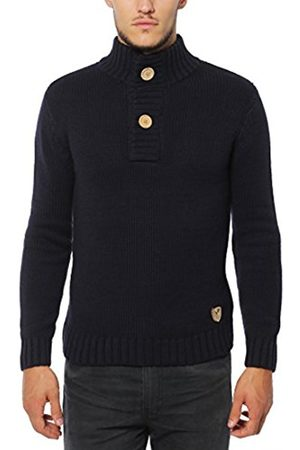 Button Fastening with Real Wooden Buttons Lower East Knitted Sweater