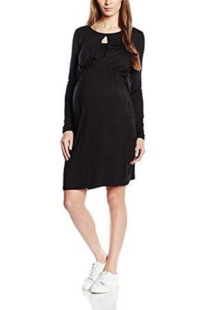 Women Dresses - Mama Licious Women's Buca Nursing Plain Long Sleeve Maternity Dress