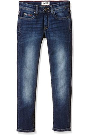 Boys Slim - Tommy Hilfiger Boy's Scanton Slim Vmw Plain Jeans