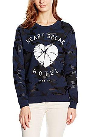 Zoe Karssen Women's Heartbreak Hotel Camo Long Sleeve T-Shirt
