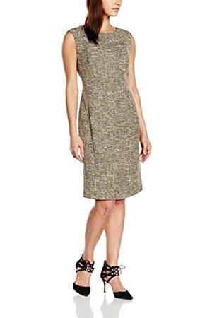 Women Pencil Dresses - Esprit Women's 026EO1E005 Knee-Length Pencil Sleeveless Dress