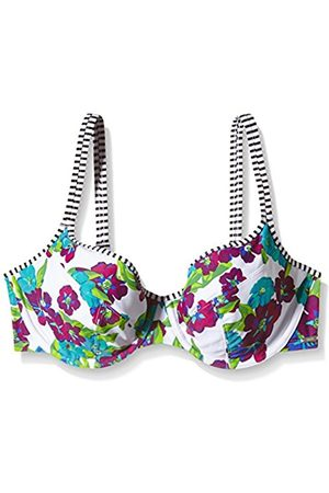 Women Bikinis - Panache Women's Elle Full Cup Floral Bikini Top