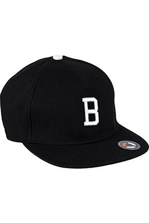 MSTRDS Letter Snapback B Baseball Cap, -Schwarz (B 1178,4617)