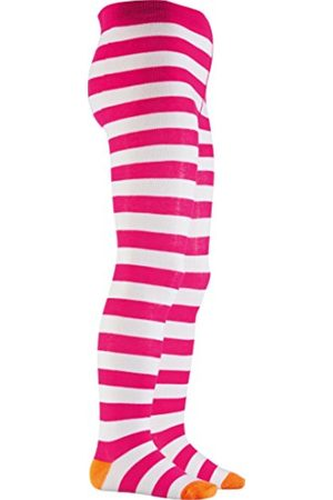 Girls Tights & Stockings - Playshoes Girl's Ringed, Oekotex-100 Standards Tights