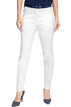 Women Stretch Trousers - Esprit Collection Women's 046EO1B003-Stretch Trousers, -Weiß ( 100)