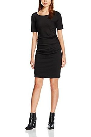 Women Dresses - Kaffe Women's 55177 Dress, -Schwarz ( Deep 50600)