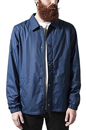 Men Jackets - Urban classics Men's Coach Jacket, -Blau (Navy 155)