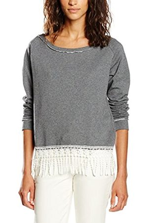 Women Sweatshirts - Blend Women's 20200483 Sweatshirt, -Grau (Dark Melange 20044)