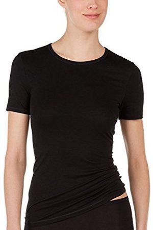 Women Vests & Camis - Calida Women's Top Kurzarm Balance Vest, -Schwarz (Schwarz 992)