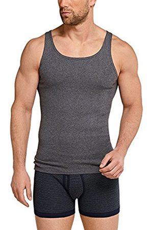 Men Vests & Camis - Schiesser Men's Original Classics Shirt 0/0 Vest, -Grau (Grau-Mel. 202)