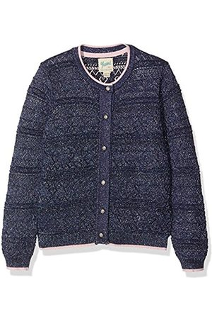 Girls Cardigans - Yumi Girl's Heart Pointelle Cardigan